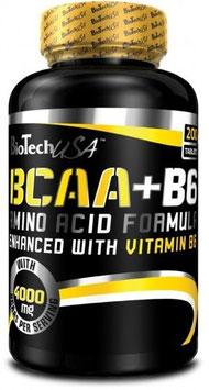 BioTech USA BCAA B6 - 200 Tabs