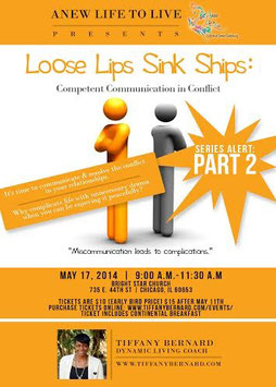 Loose Lips Sink Ships: Competent Communication in CONFLICT