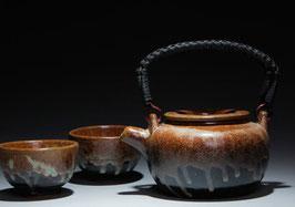 Grobe Keramik Tee-Service