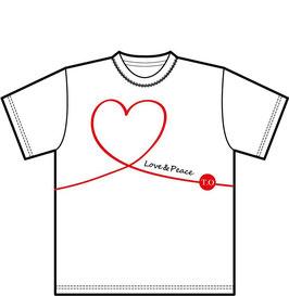 配信限定Tシャツ LOVE & PEACE【受注生産】