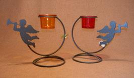 Teelichthalter Engelbogen