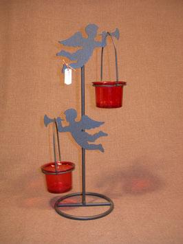 Teelichthalter Engel