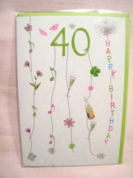 "Happy Birthday ""40"""