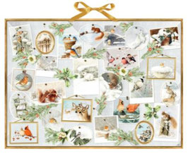 Marjoleins Galerie: Natur im Winter, Wand-Adventkalender