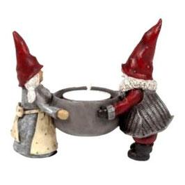 Teelichthalter Hakan und Stina