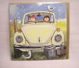 "Karte ""VW-Käfer"""