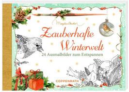 Zauberhafte Winterwelt, Kreativbuch-Adventkalender
