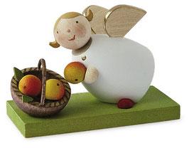 Schutzengelchen mit Apfelkorb