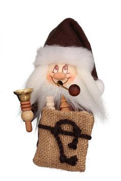 Räuchermännchen Miniwichtel Weihnachtsmann mit Glocke