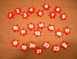 Filz-Sterne 1 - 24