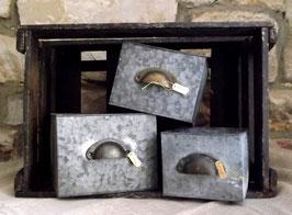Schubladen aus Metall