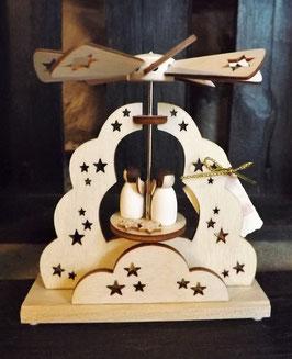 Mini-Pyramide mit Engeln - Wärmespiel