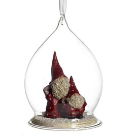 Elmer & Max in einer Glaskugel