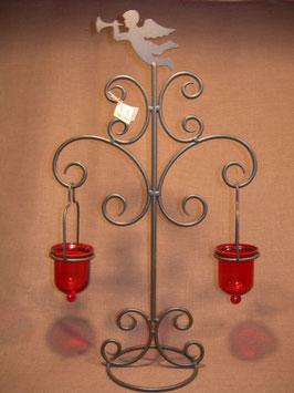 Teelichtständer Engel 2-flammig