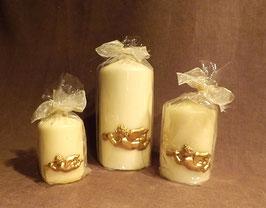 Engel-Kerzen weiß