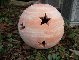 Sternenkugel aus Terracotta