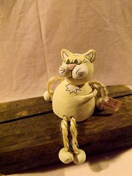 """Glück-Auf"" Kantenhocker Katze"