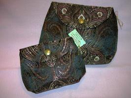 Accessoire-Täschchen Brokat