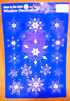 Fensterdeko Eisblumen II