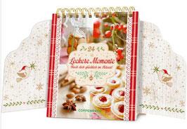 24 leckere Momente - Back dich ..., Tisch-Adventkalender