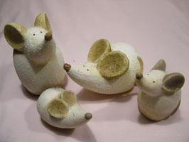 Keramik-Mäuse