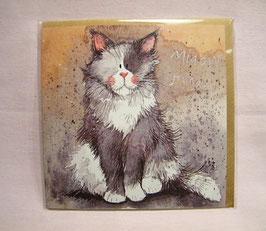 """Tierische Karte """"Katze"""""""
