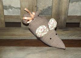 Lavendel-Maus rot/braun