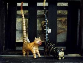 Ringhalter Katze