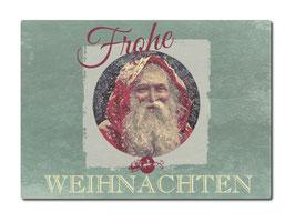 """Postkarte aus Holz """"Frohe Weihnachten"""""""