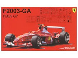 Kit 1/20 ferrari f2003-ga italy gp COD: 090863