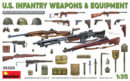 U.S. Infantry Weapons & Equipment  COD: 35329