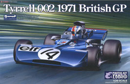 Tyrrell 002 British GP 1971 COD: EB/008