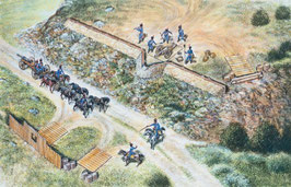 FRENCH ARTILLERY SET - NAPOLEONIC WARS COD: 6031