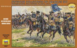Swedish Dragoons of Charles XII (XVII - XVIII A.D.)  COD: 8057
