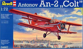 Soviet Antonov An-2 Colt 1/72 COD: 04667