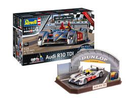 "Gift Set ""Le Mans"" Audi R10 TDI + 3D Puzzle Diorama COD: 05682"