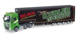 "MAN TGX XXL 6x2 Meusburger-Sattelzug ""Kübler Big Box"" COD: 306553"