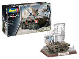 SpPz 2 Luchs con 3D Puzzle Diorama COD: 03321