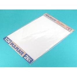 Tamiya Plastic Plate 1.0mm B4*2 COD: 70124