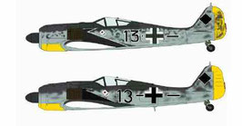 FOCKE-WULF Fw190A-5/6/8 PRILLER COMBO COD: 02003