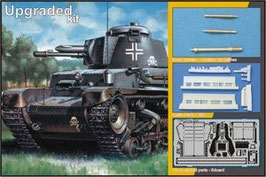 """Pz.Kpfw. 35(t) """"Upgrade Kits with Exteriors Details"""" COD: 35024"""