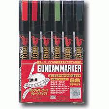 GUNDAM ZEON SET MARKER BASIC COD: GMS108