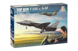 """Top Gun"" F-14A vs A-4F COD: 1422"