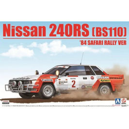 Nissan 240RS (BS110)  '84 SAFARI RALLY VER COD: BE24014