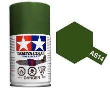 Olive Green (USAF) 100ml Aircraft Spray COD: AS14