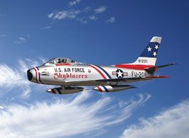 F-86F Sabre Jet ''Skyblazers'' COD: 2503