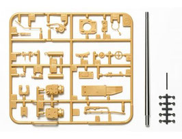German Jagdpanzer IV (70) Lang Metal Barrel Set COD: 12660