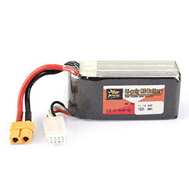 ZOP Power 11,1V 1500mAh 40C 2S Batteria Lipo con Spina XT60  COD: 3SlIPO