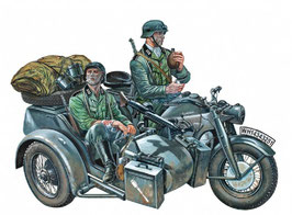 ZUNDAPP KS750 WITH SIDECAR COD: 317
