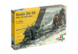 Breda 20/65 Mod. 35 with crew COD: 6464